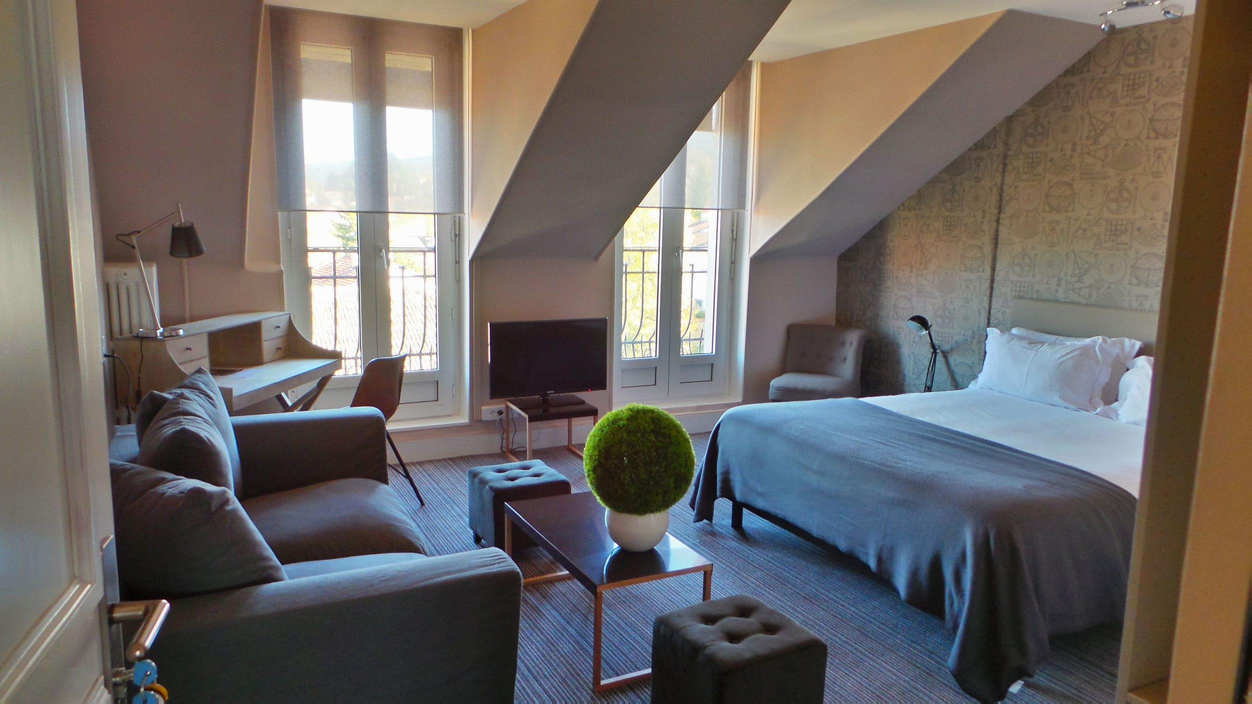 vue compléte chambre executive nouvel hotel lumineuse